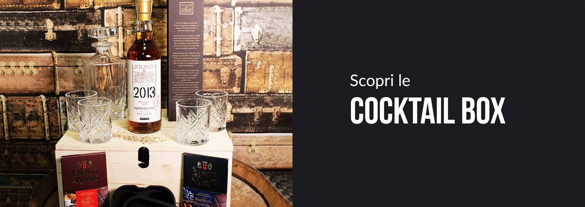 Scopri le Cocktail Box