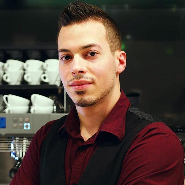 Juri Donvito - Docente Corso Caffetteria