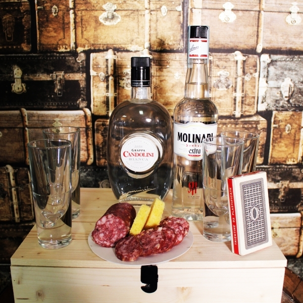cocktail box flair sanbuca