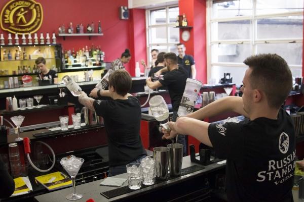 corso barman pratica