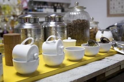 Butterfly-pea flower tea