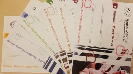 Certificazioni Flair Academy