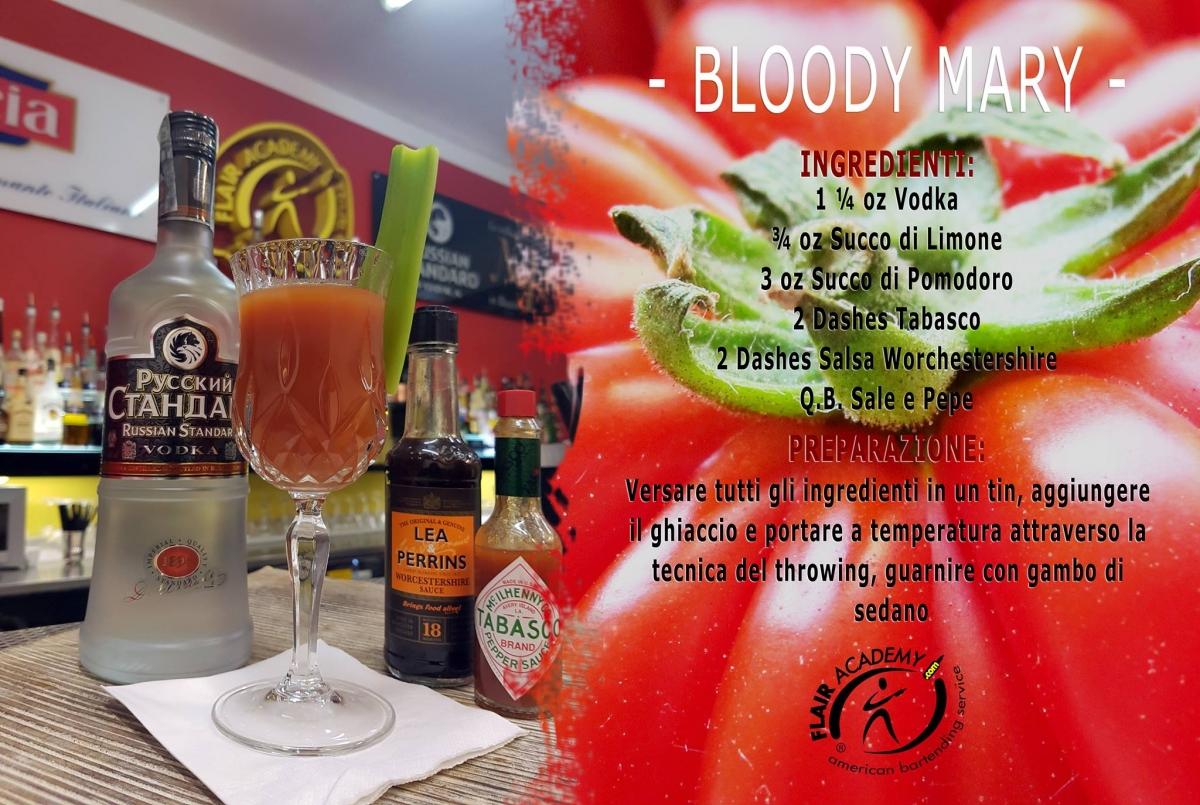 ricetta bloody mary