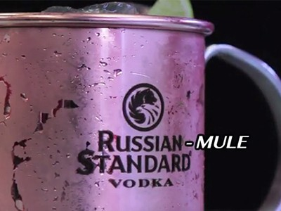 La video ricetta del Russian Mule