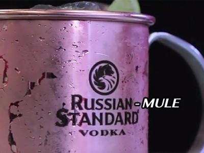 La video ricetta del Russian Mule