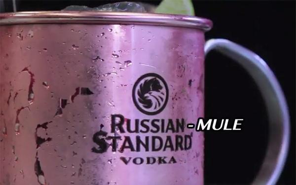 russian mule di Russian Standard Vodka